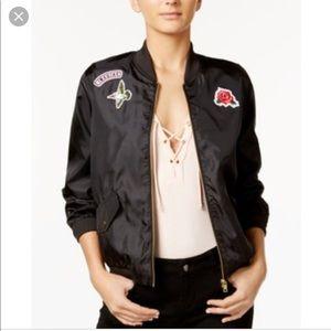 Material Girl bomber jacket